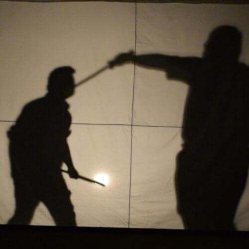 Slavnostní zahájení - stínové divadlo