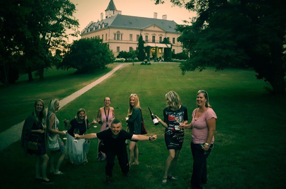 Večery s HS: Degustace Vinařství Krásná hora na zámku v Raduni