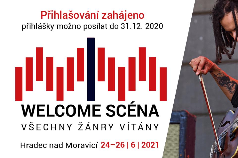 Konkurz na Welcome scénu 2021 byl zahájen!